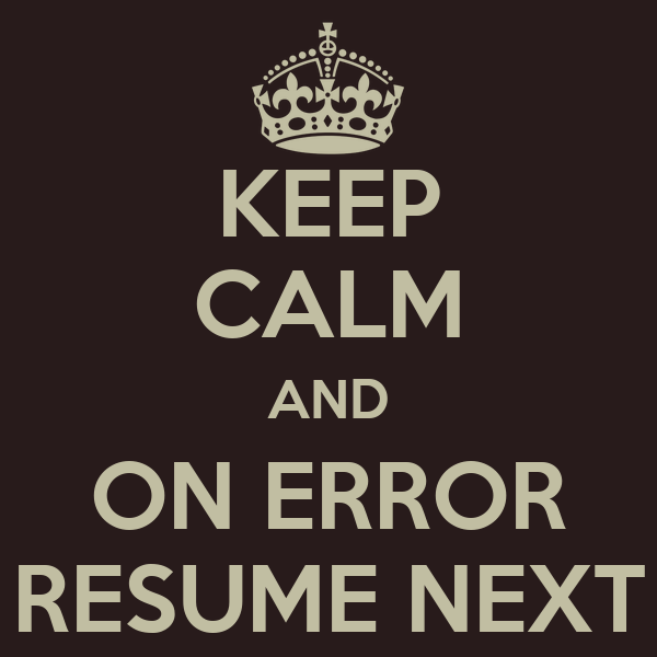 gulp task on error resume next mike on software