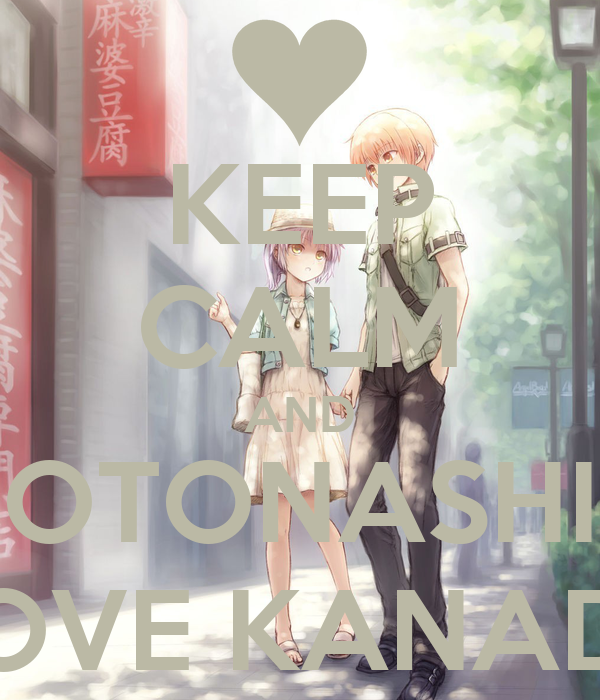 kanade and otonashi relationship help