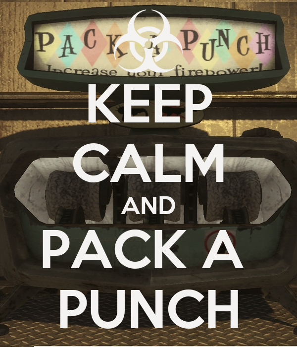 Keep calm and pack a punch poster jack keep calm o matic