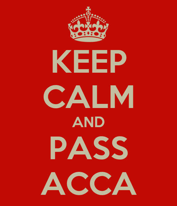 Image result for pass acca