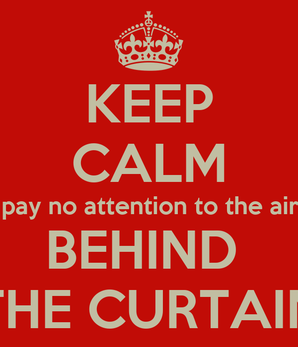 Keep Calm And Pay No Attention To The Airrest Behind The