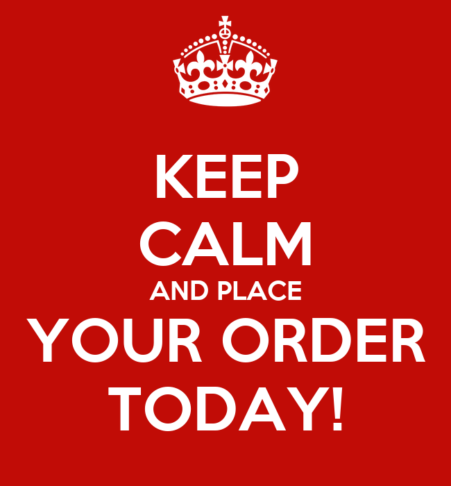 Place your essay order today