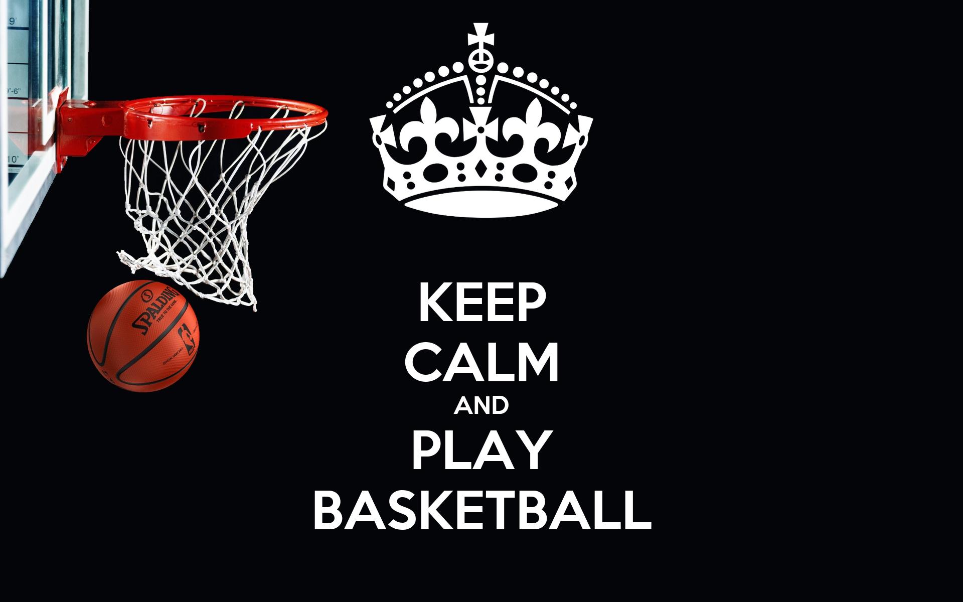 KEEP CALM AND PLAY BASKETBALL Poster | Nick Bui | Keep Calm-o-Matic