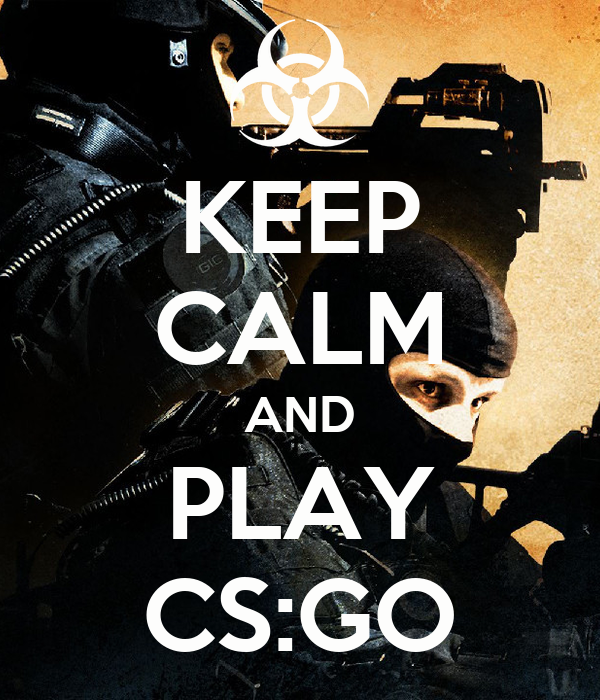 keep calm and play cs go poster candra keep calm o matic. Black Bedroom Furniture Sets. Home Design Ideas