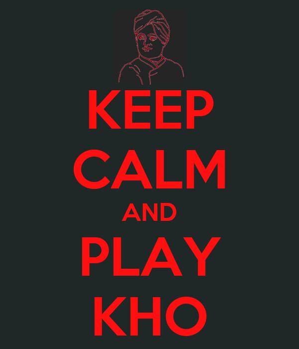 how to play kho kho video