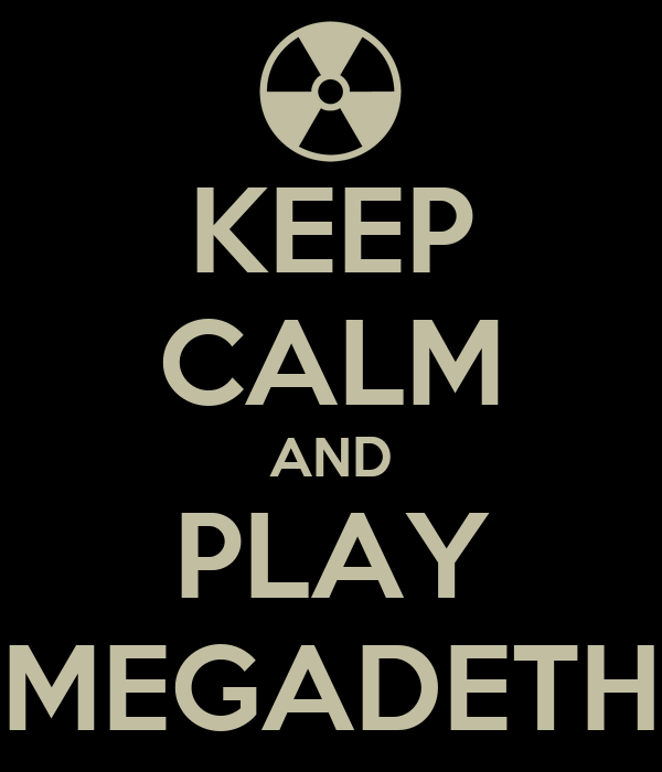 play megadeth