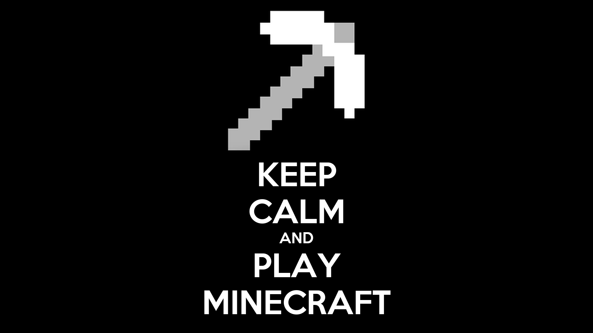 Download Wallpaper Minecraft Quote - keep-calm-and-play-minecraft-265  Gallery_962780.png
