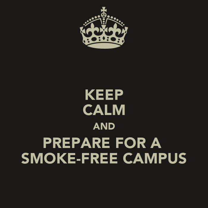 How to protect the non smokers on campus