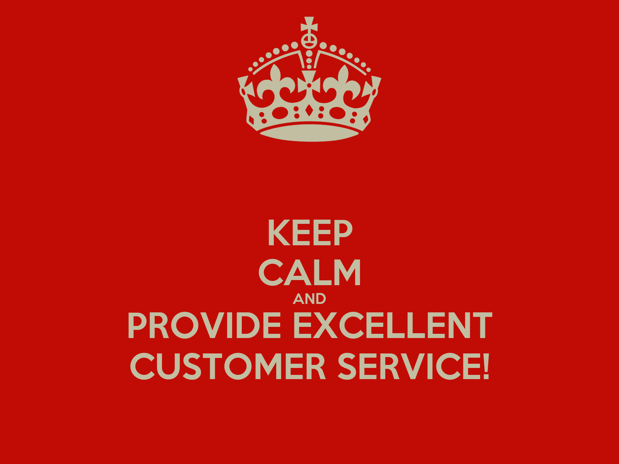 provide example of excellent customer service