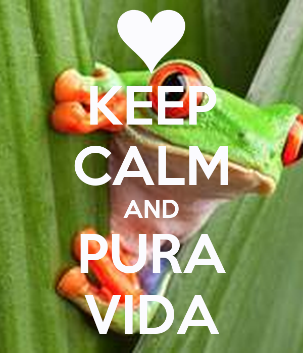 Keep calm and pura vida keep calm and carry on image for Pura vida pdf