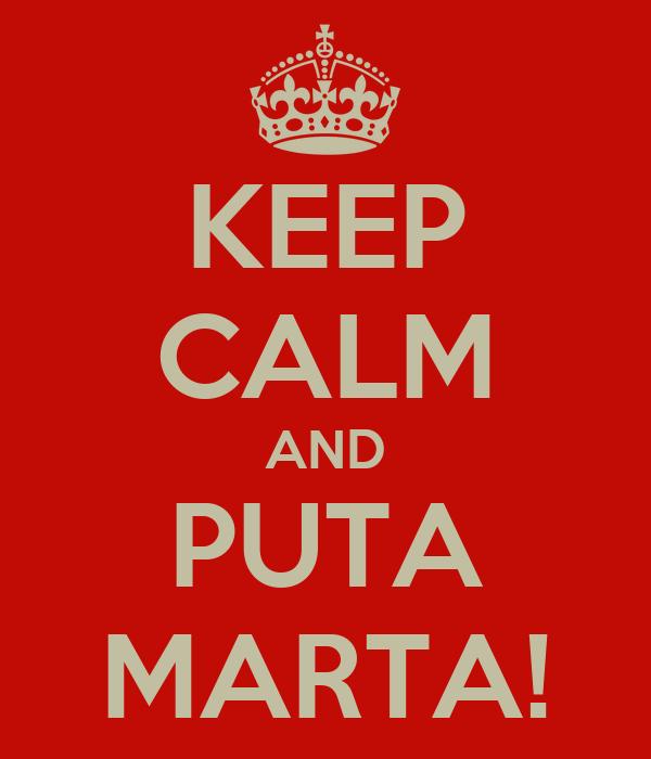 PUTA MARTA