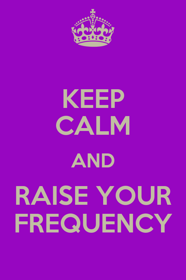 how to raise your frequency