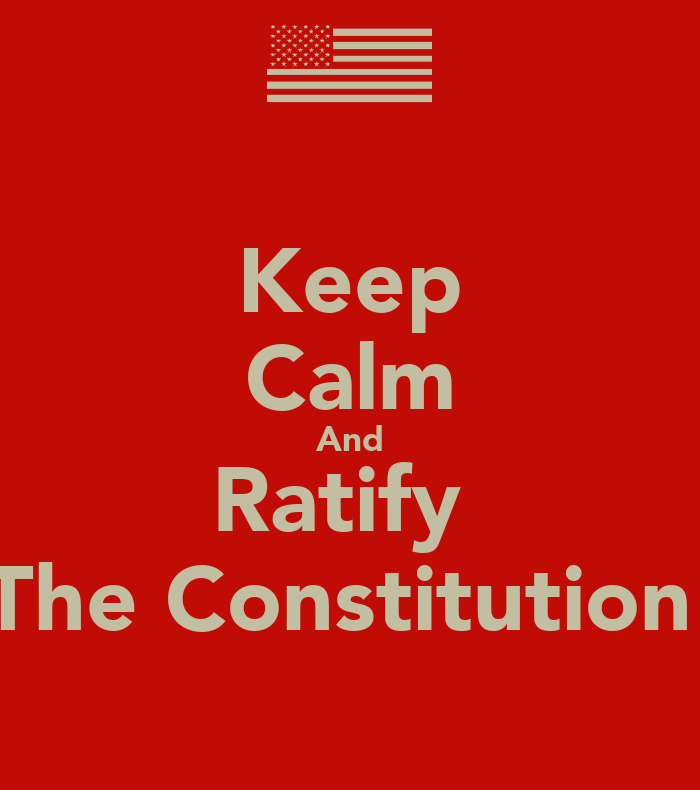 Keep Calm And Ratify T...