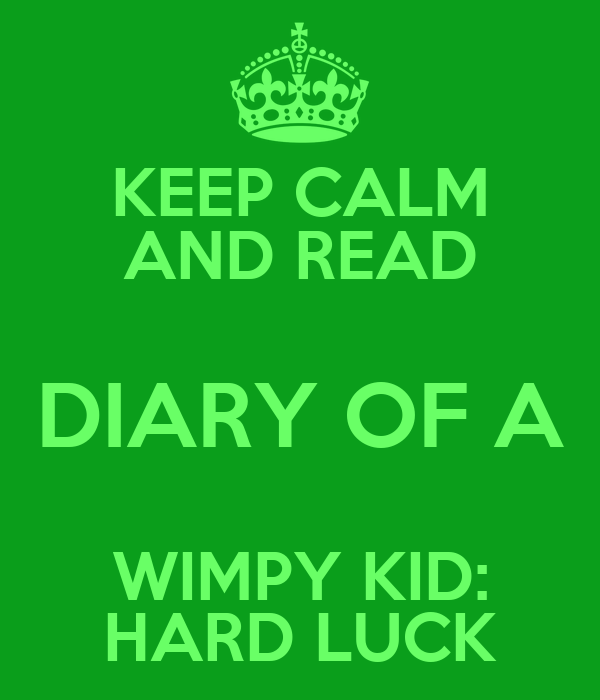Hard Luck ~ Diary of a Wimpy Kid by Jeff Kinney (Paperback, 2013)