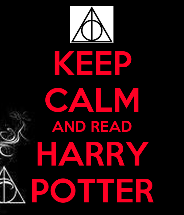 keep calm and read harry potter poster ash keep calmo