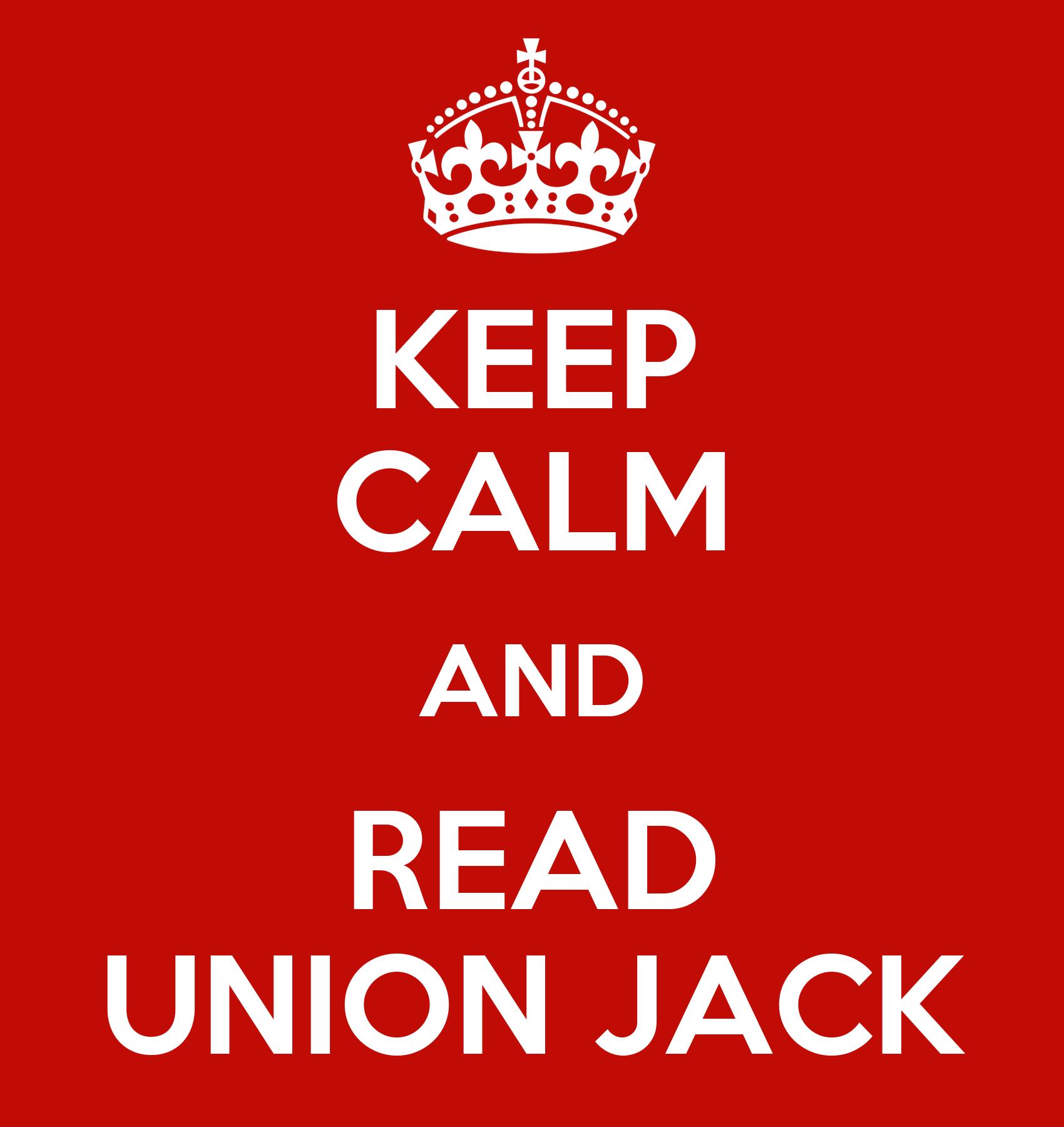 keep calm and read union jack poster union jack keep calm o matic. Black Bedroom Furniture Sets. Home Design Ideas