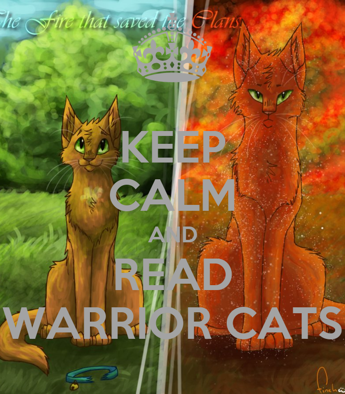 Warriors Dawn Of The Clans Book 4: KEEP CALM AND READ WARRIOR CATS