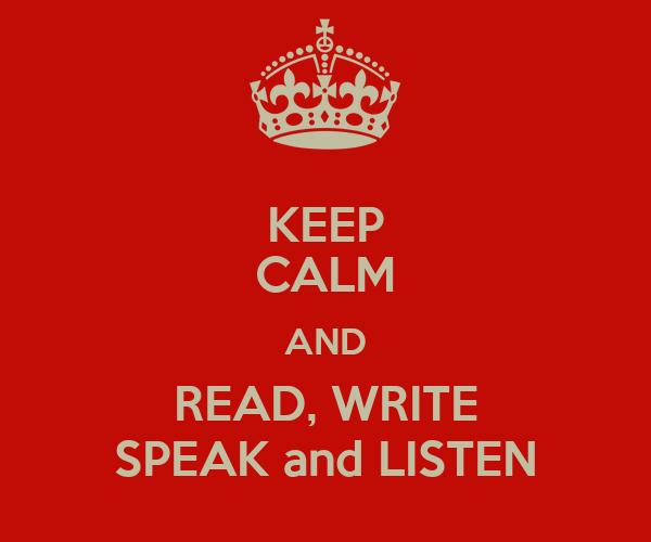 how to write speak in stories