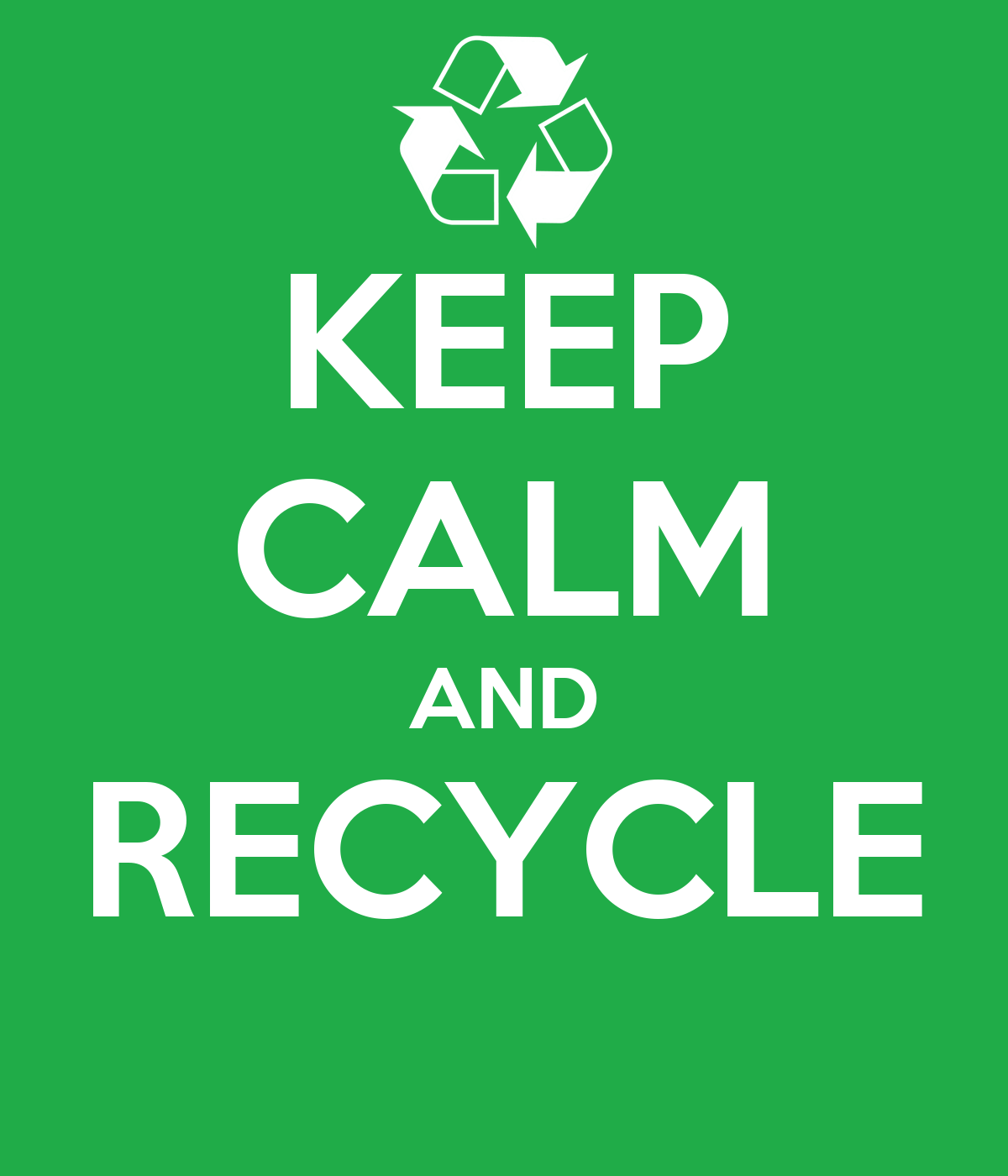 Design Poster On Recycling