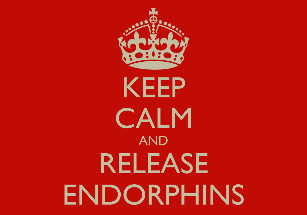 KEEP CALM AND RELEASE ENDORPHINS Poster | Vittorio | Keep ...
