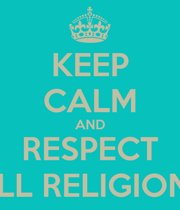 respect for all religions essay