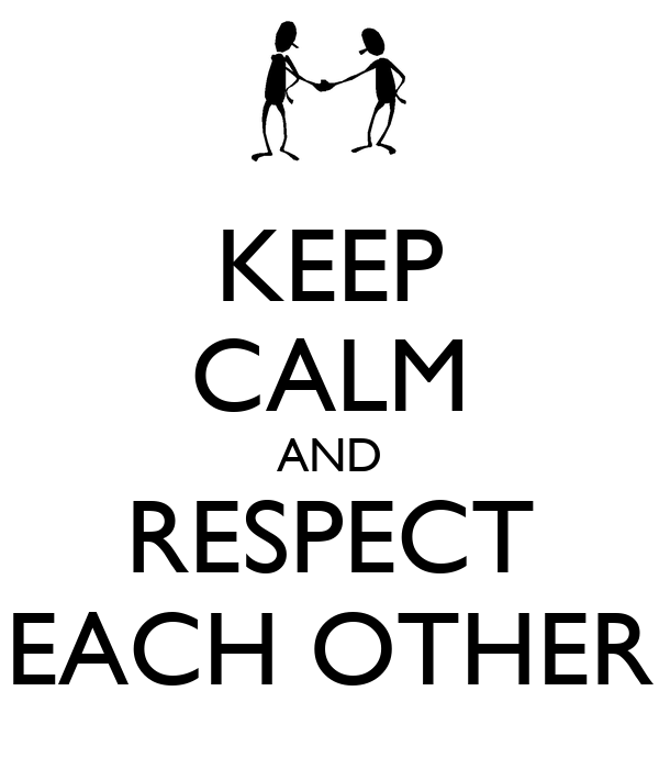essay on respect to each other