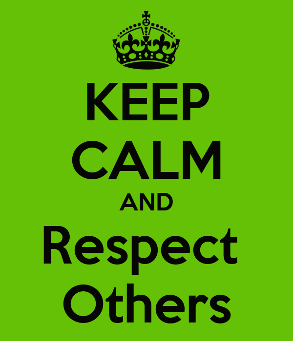 essay about respecting others property