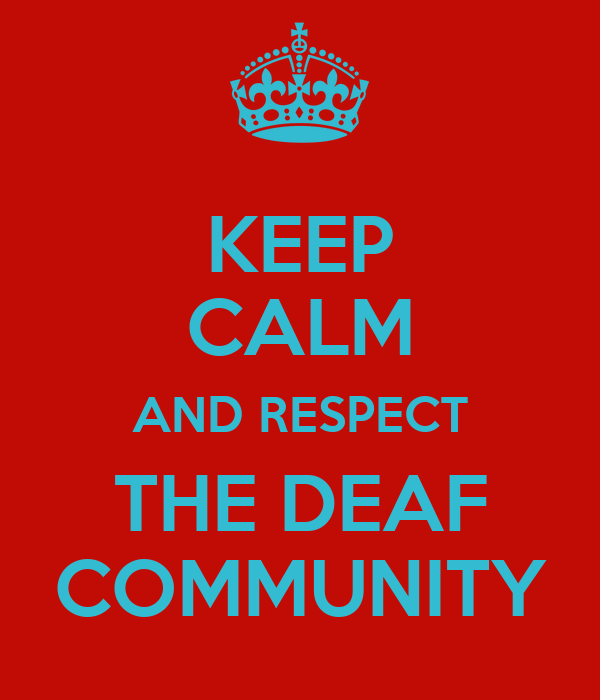 Image Gallery Deaf Community