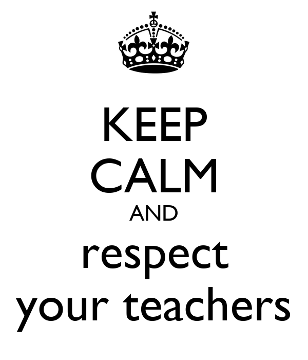 Essays on respecting others