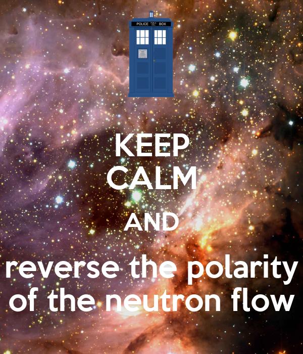 Neutron flow polarity switch