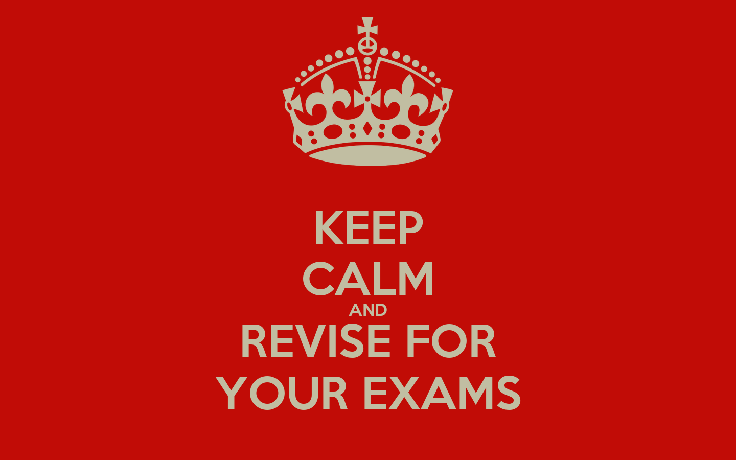Wall Stickers Childrens Keep Calm And Revise For Your Exams Keep Calm And Carry