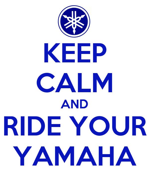 [VENDUS] Pots LEO VINCE LV ONE FZ6 - Page 2 Keep-calm-and-ride-your-yamaha