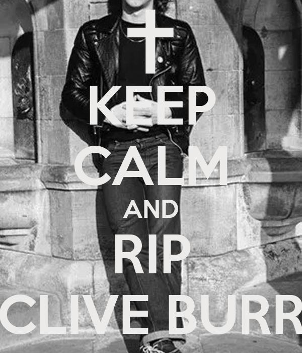 Clive burr rip