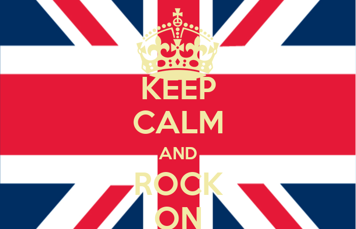 Keep Calm And Rock On Wallpapers