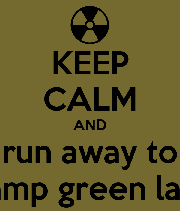 keep calm and run away to camp green lake poster pedro keep calm