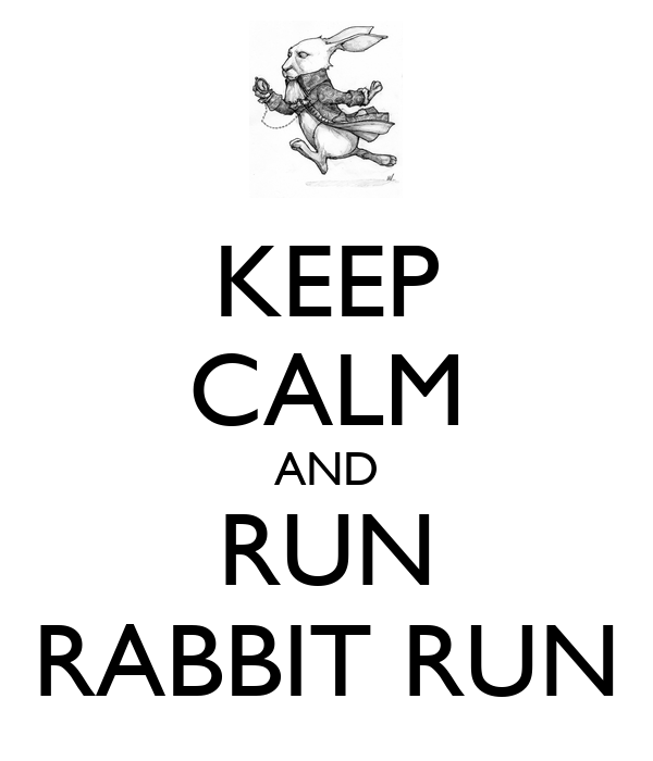 new essays on rabbit run Student exploration: rabbit population by season essay sample and allow the simulation to run for one year a student exploration: rabbit population by.