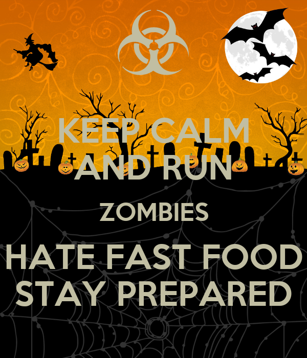 Zombies Hate Fast Food Uk