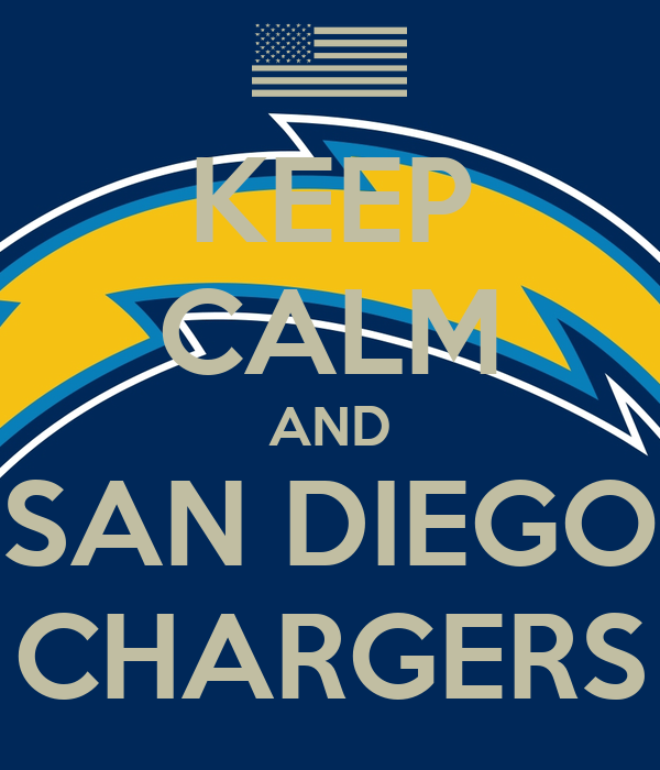 Keep Calm And San Diego Chargers Poster Nfl Keep Calm