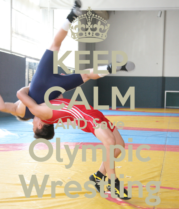 Save Olympic Wrestling Cover Photo KEEP CALM AND Save Oly...