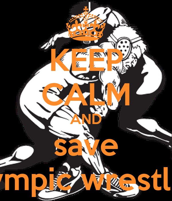 Save Olympic Wrestling Cover Photo KEEP CALM AND s...