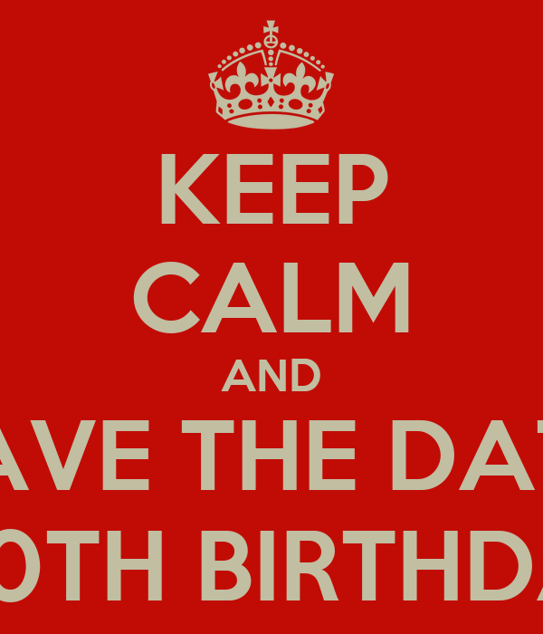 save the date 50th birthday party