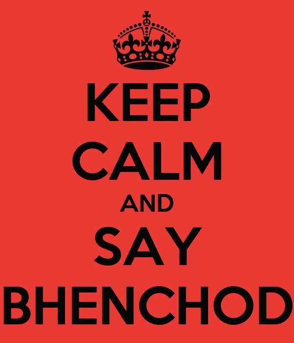 bahenchod
