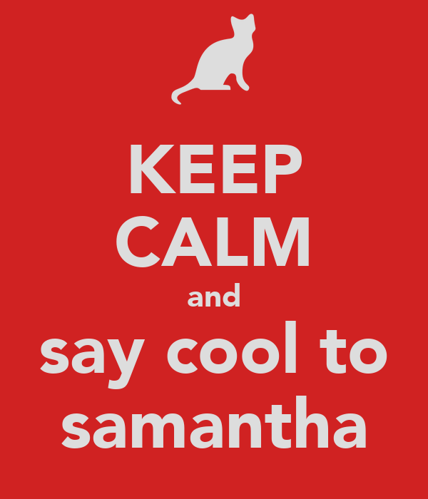 how to say samantha in spanish