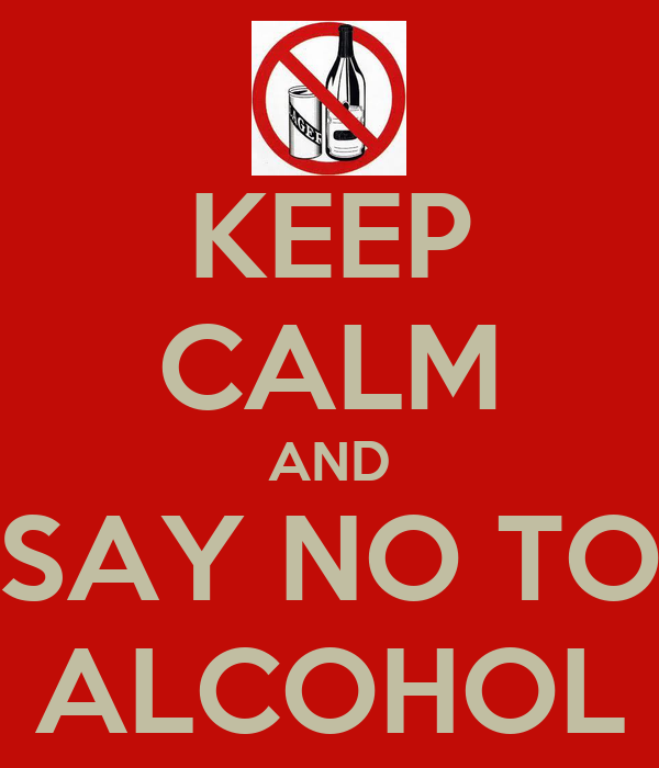 how to say no to alcohol at a party