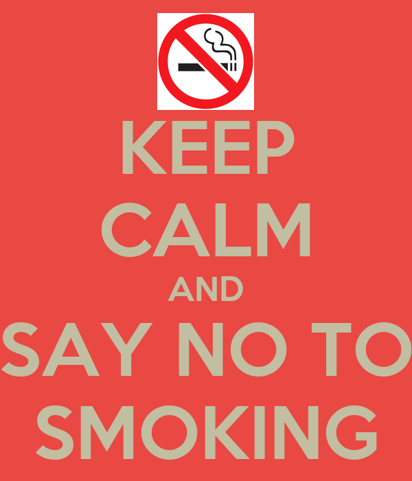 say no to tobacco No doubt, the tobacco is the fourth most common risk factor for diseases worldwide if you are a smoker then think seriously for a moment and decide whether you are mentally ok.