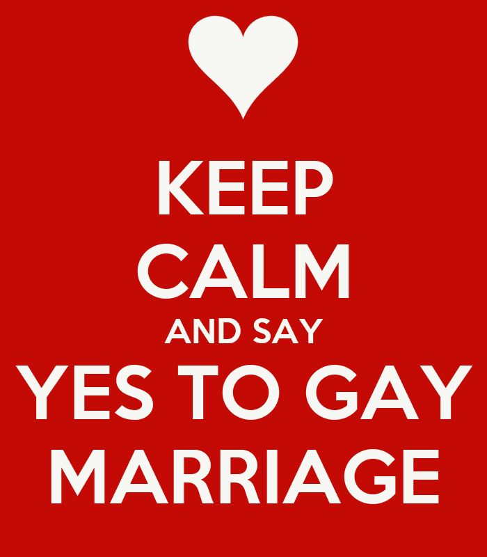 Yes To Gay Marriage 46