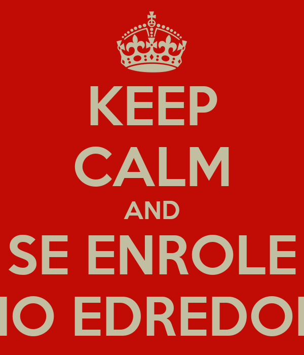 KEEP CALM AND SE ENROLE NO EDREDON Poster | DAVIH LEITE | Keep