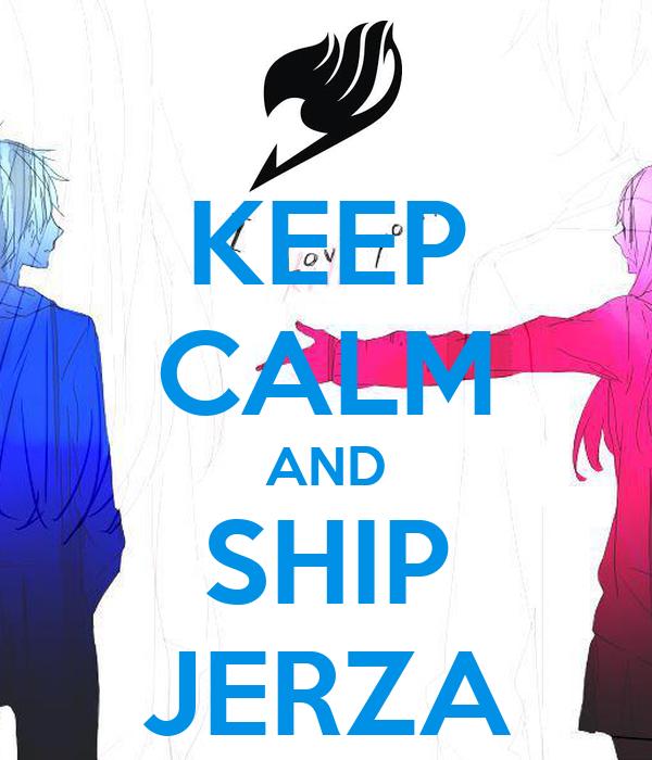 Présentation d'une non-lectrice de fanfictions (pas tapeeeer) Keep-calm-and-ship-jerza-17