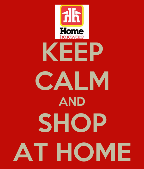 Keep calm and shop at home poster chloe keep calm o matic Shop at home