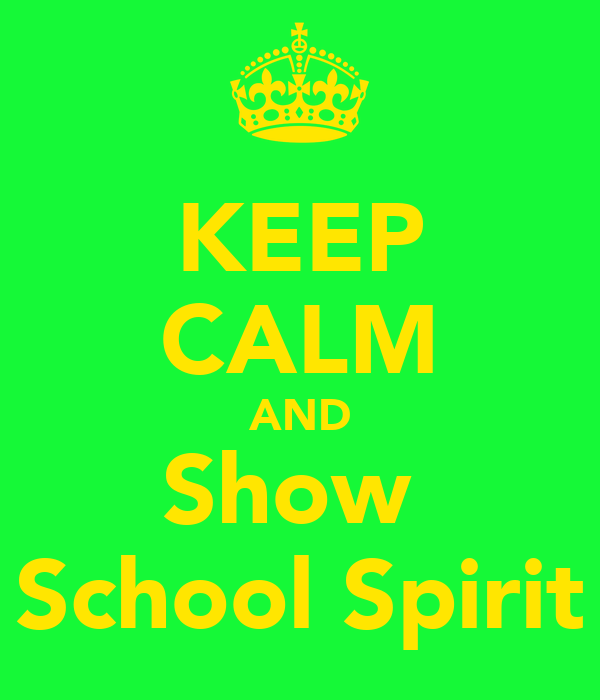 how to show school spirit
